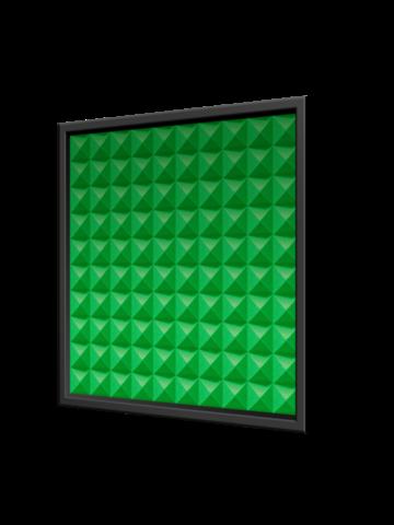 Акустическая съемная  панель ECHOTON piramida 500x500