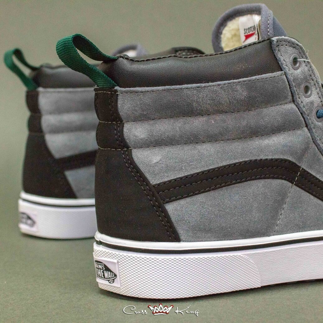 Купить Vans Off the Wall из серой замши 2367-8624