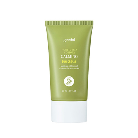 Солнцезащитное средство  Goodal Houttuynia Cordata Calming Suncream SPF50+/PA++++ 50ml