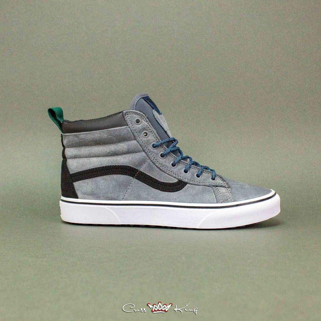 Купить Vans Off the Wall из серой замши 2367-5005