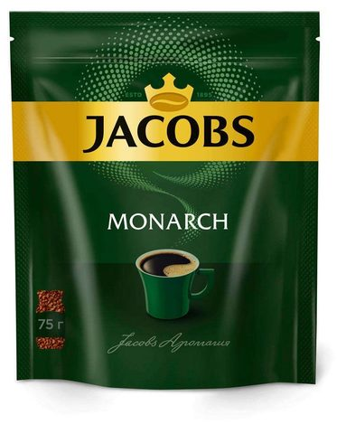 Кофе Jakobs monarch 75 гр.
