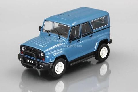 UAZ-3159 Bars blue 1:43 DeAgostini Auto Legends USSR #218