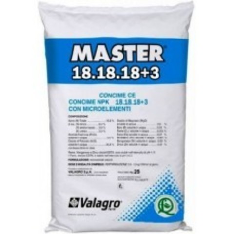 Valagro Master 18-18-18 +3 200 гр Италия