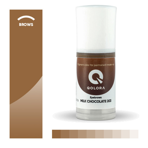 Qolora Milk Chocolate 203 (Молочный шоколад)