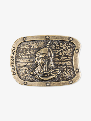 Hero's buckle color old bronze