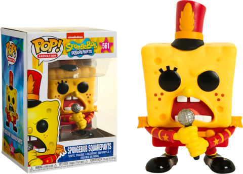 Фигурка Funko Pop! Animation: SpongeBob SquarePants - Spongebob Squarepants (Excl. to Hot Topic)