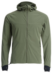 Беговая непромокаемая куртка Gri Джеди 2.0 оливковая