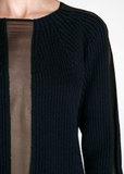 Свитер из шерсти с шифоном COSTUME NATIONAL