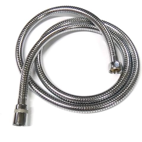 Шланг для душа Zegor WKR - 006. Изготовлен из экологически чистого материала EPDM (этиленпропиленовый каучук ISO-4097). Шланг снабжен двумя конусными фитингами ½ х ½ для подключения душа. Максимальное давление 12 bar при рабочей температуры воды 75 º C. Степень деформации при растяжении 122%. Металлизированная оплетка с нержавеющей стали с двойными замкам обеспечивает максимальную прочность на натяжение до 50 кг. Наличие подшипника, не даст шлангу перекручиваться, тем самым увеличивает срок службы изделия.