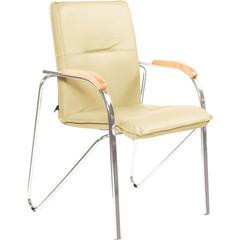 Кресло FA_SAMBA Silver к/з светло-бежевый DO122/бук