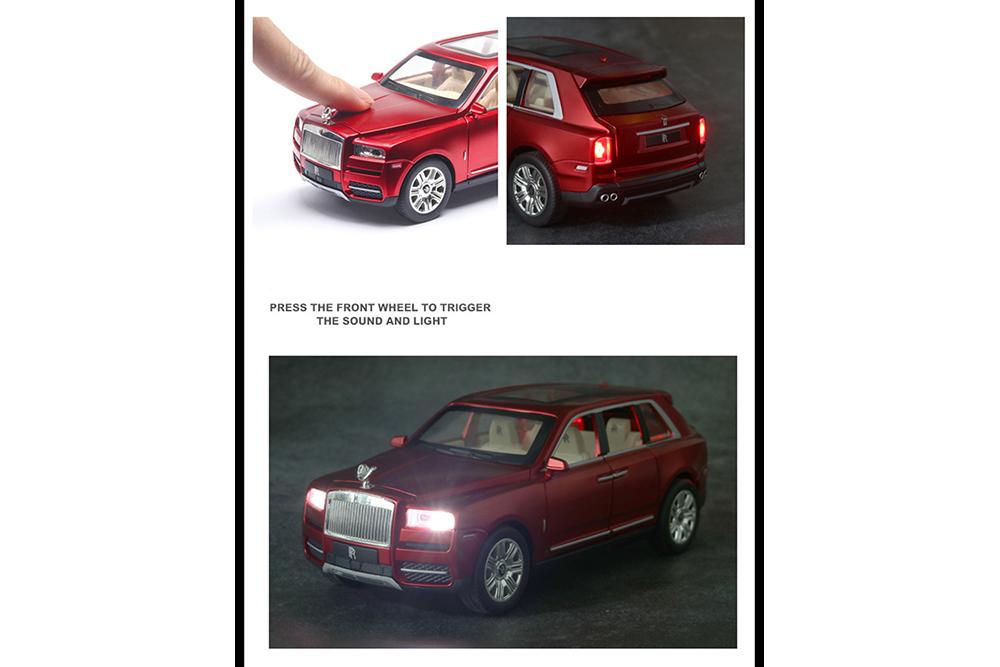 Коллекционная модель ROLLS-ROYCE CULLINAN 2020 RED