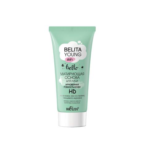 Белита Belita Young Skin Матирующая основа для лица «Мгновенная ровность кожи» HD 30мл