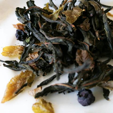 Иван-чай «с плодами и листьями черники»