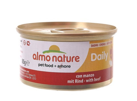Консервы (банка) Almo Nature Daily Menu Cat Chunks with Beef