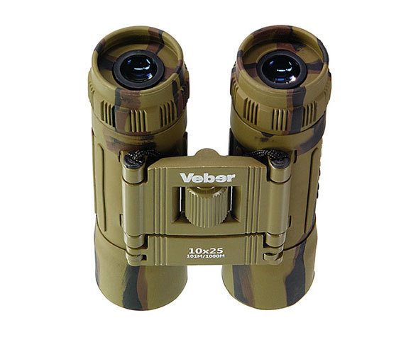 Бинокль Veber Sport БН 10x25 camo - фото 3