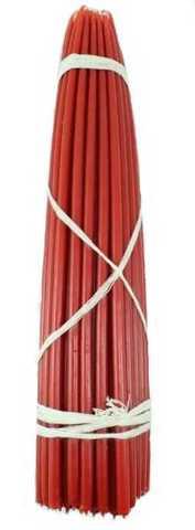 Свечи  №5  (Красные)вес 800 гр первый сорт
