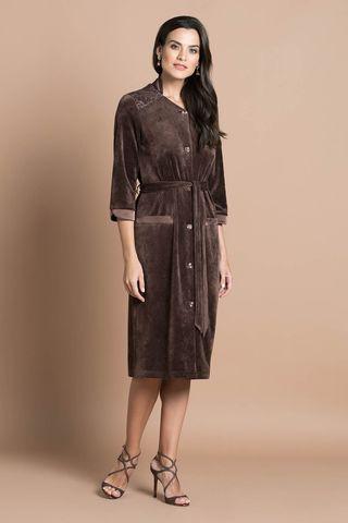 Халат 20305-2 коричневый Laete