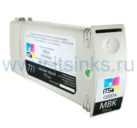 Картридж для HP 771 (CE037A) Matte Black 775 мл