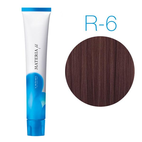 Lebel Materia Lifer R-6 (тёмный блондин красный) - Тонирующая краска для волос