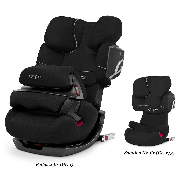 Автокресло 1/2/3 Cybex Pallas 2-Fix Pure Black