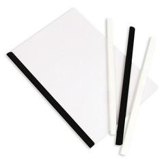 Скрепкошина для брошюровки Bantex для А4 до 50 листов черная