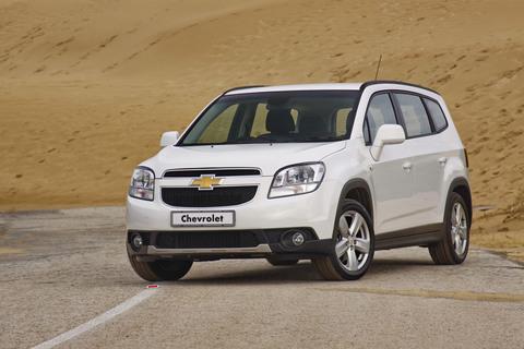 Задняя Пневмоподвеска Chevrolet Orlando