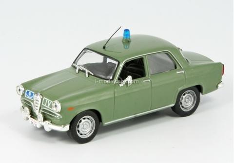 Alfa Romeo Giulietta Italian Police 1:43 DeAgostini World's Police Car #14