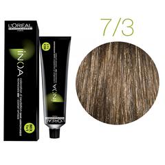 L'Oreal Professionnel INOA Fundamental 7.3 (Блондин золотистый) - Краска для седых волос