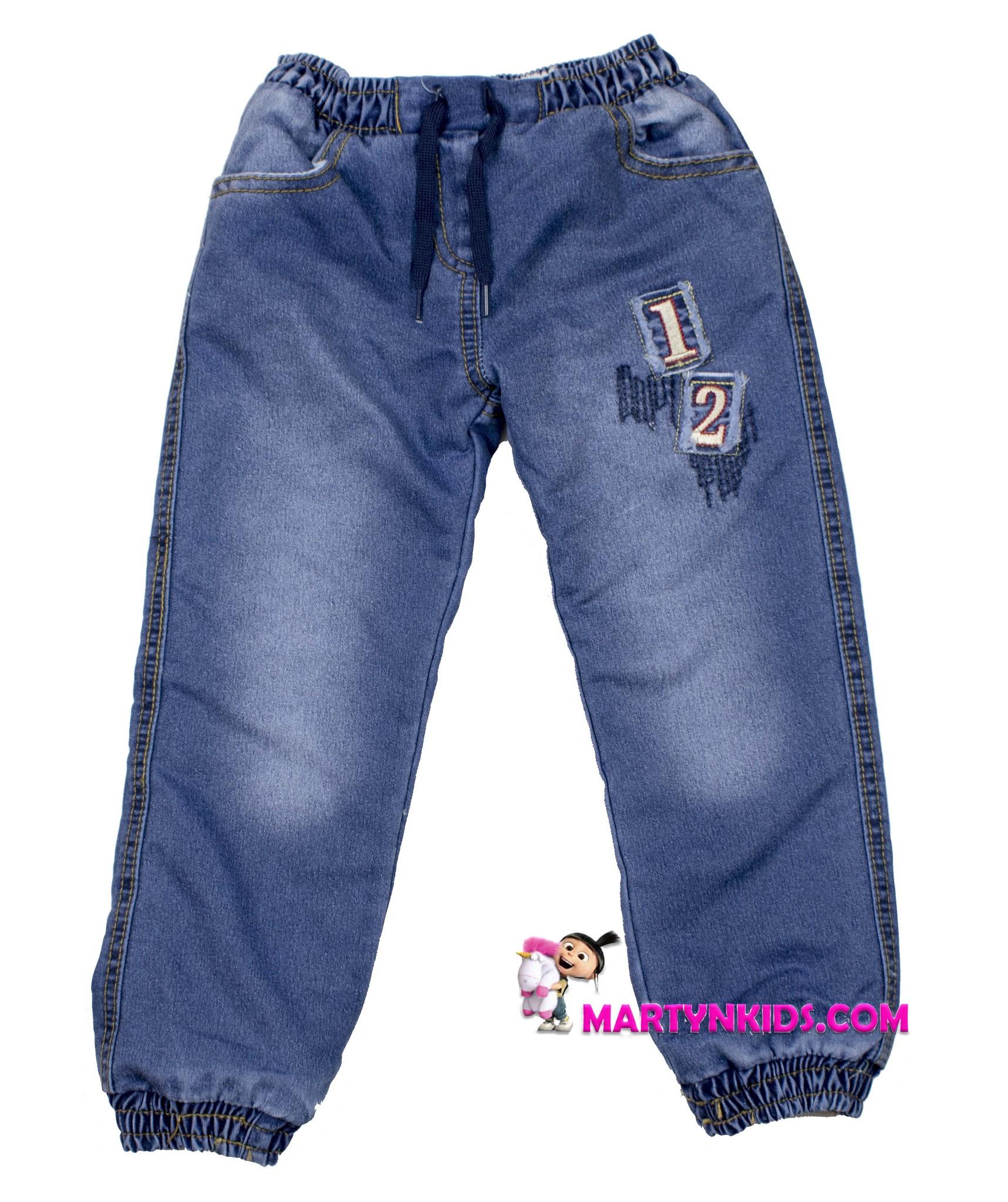 1806 джинсы теплые цифры
