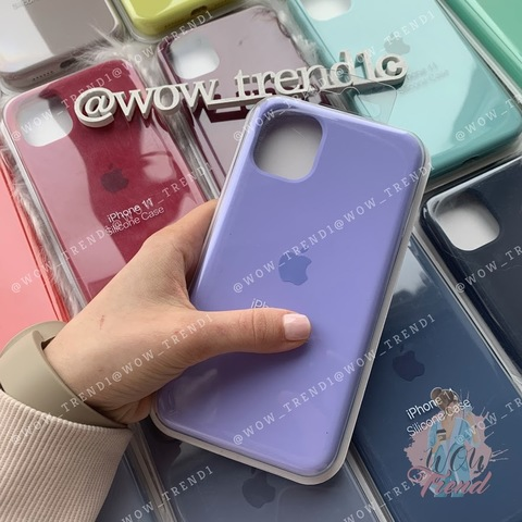 Чехол iPhone 11 Pro Max Silicone Case Full /glycine/