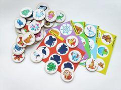 Логическая игра Животный мир, ToySib