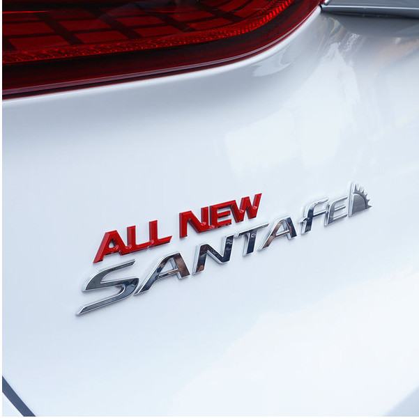 Значек All New Santa Fe Mobis для Санта Фе 4 (Hyundai 2018 - 2019)