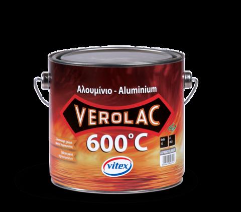 Антикоррозийная алюминиевая термостойкая краска Verolak 600