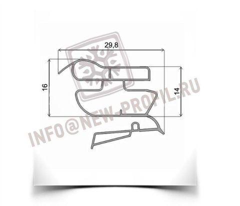 Уплотнитель 101*57 см для холодильника Индезит CA137S (холодильная камера)  Размер  Профиль 022