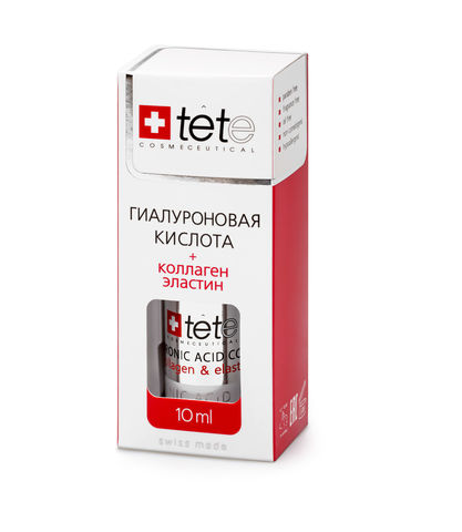 Гиалуроновая кислота + Коллаген и эластин TETe Hyaluronic acid + Collagen and Elastin, 10 мл