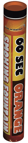 Дым оранжевый 60 сек. h -220 мм