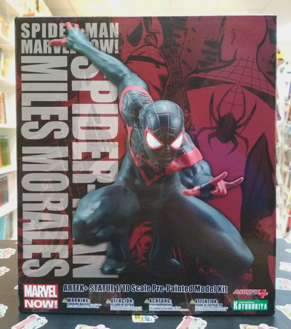 Kotobukiya ARTFX+ Spider-Man (Miles Morales) MARVEL NOW! || Фигурка Человека-Паука (Майлз Моралез)