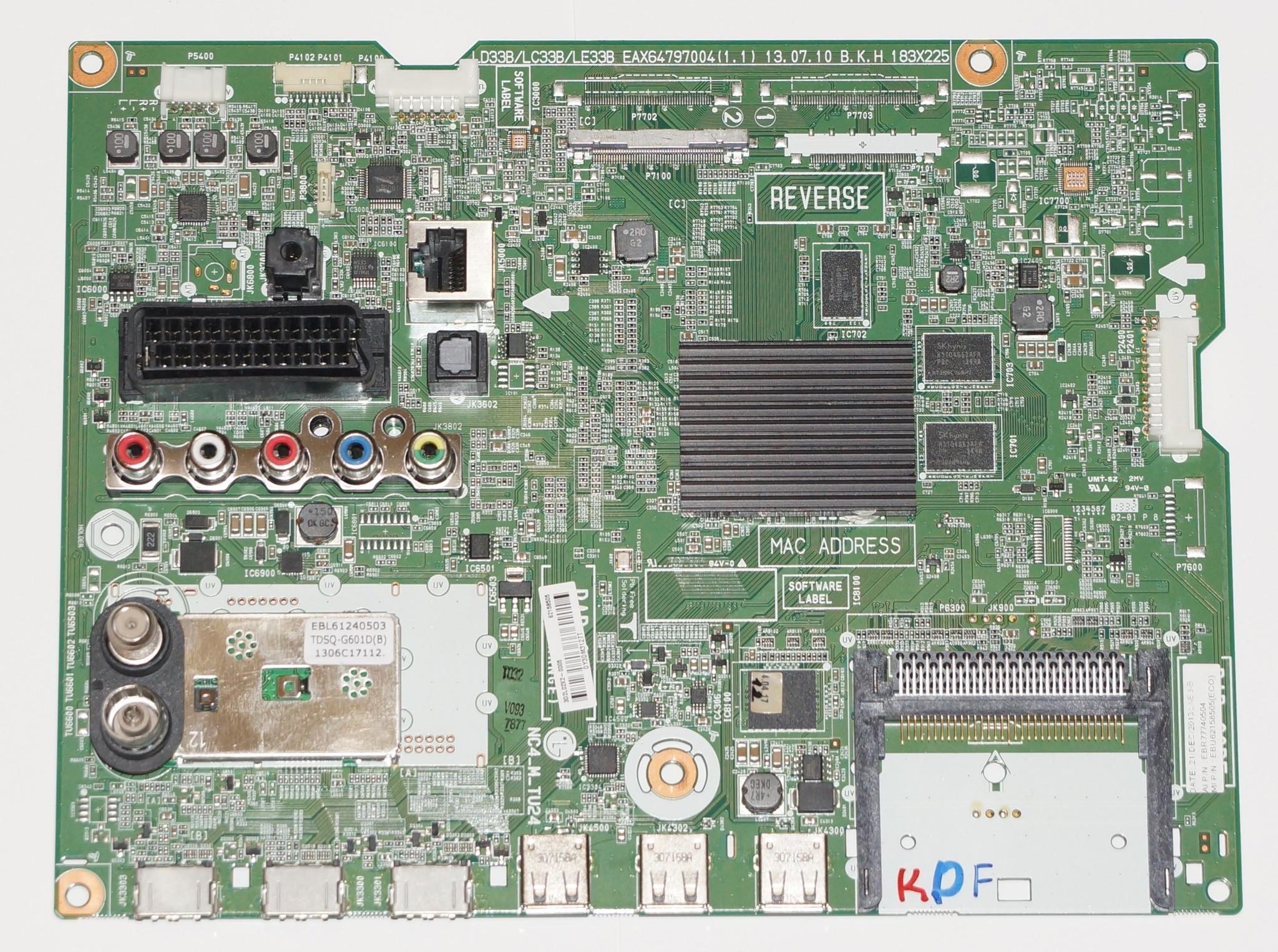 EAX64797004(1.1) EBR77740504 купить main LG