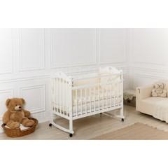 Кровать «Incanto Sofi» с сердечком, цвет белый