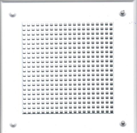 Решётка 210*250 белая, мелкая клетка