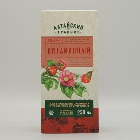 Бальзам Алтайский травник Витаминный GREEN SIDE, 250 мл