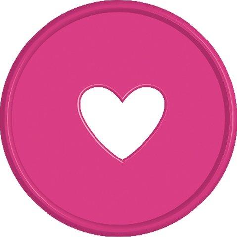Диски- крепежный механизм для ежедневника Create 365 Planner Expander Rings - Pink - 4.3 см