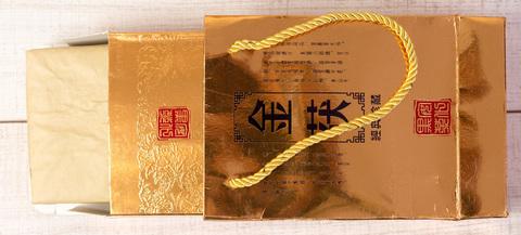 Ань Хуа Фу Чжуан Хей Ча подарочный, 2013, 500 г