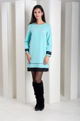 Шарлота. Красива сукня з мереживом. Голубой