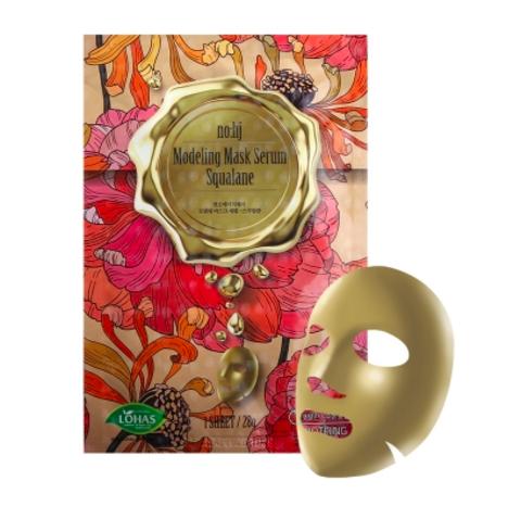 Фольгированная маска со скваланом NO:HJ Modeling Mask Serum Sgualane (28ml)
