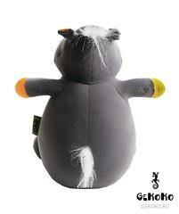 Подушка-игрушка антистресс «Бегемот малыш Няша», оранжевый 4