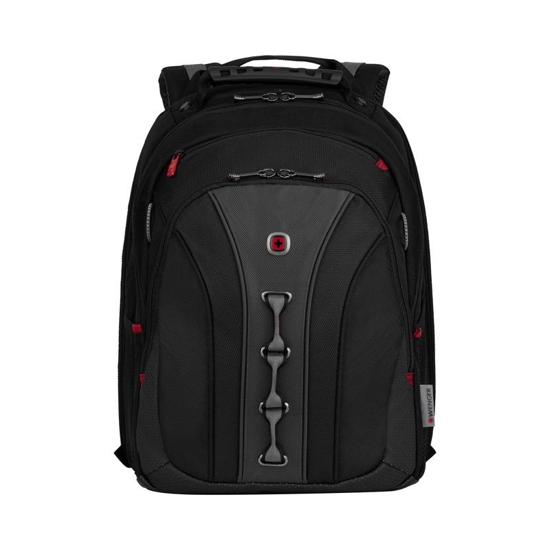 Рюкзак WENGER Legacy, цвет чёрный/серый, отделение для ноутбука 16, 45х35х25 см., 21 л. (600631) - Wenger-Victorinox.Ru
