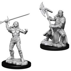 D&D Nolzur's Marvelous Miniatures - Female Half-Orc Barbarian