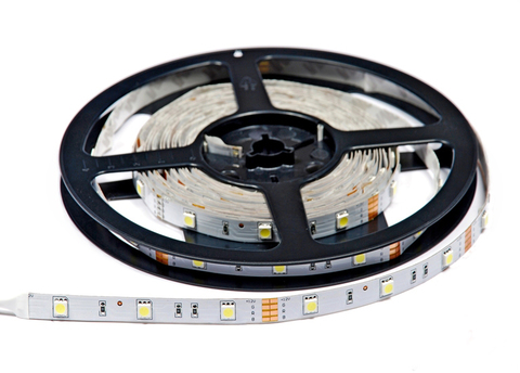 Лента светодиодная SMD5050-30-20-12-72-RGB 30LED/м, IP20, 12В, 7.2Вт, RGB, (У) TDM