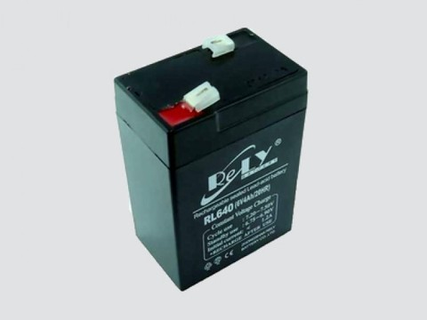 Аккумулятор свинцово-кислотный 6V, 4Ah SC-640 70*47*101мм